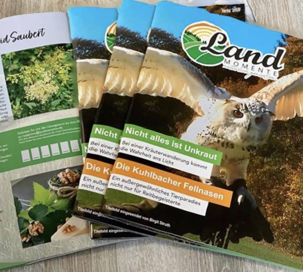 LandMomente Magazin erscheint im ARKM Online Verlag, Bergneustadt.