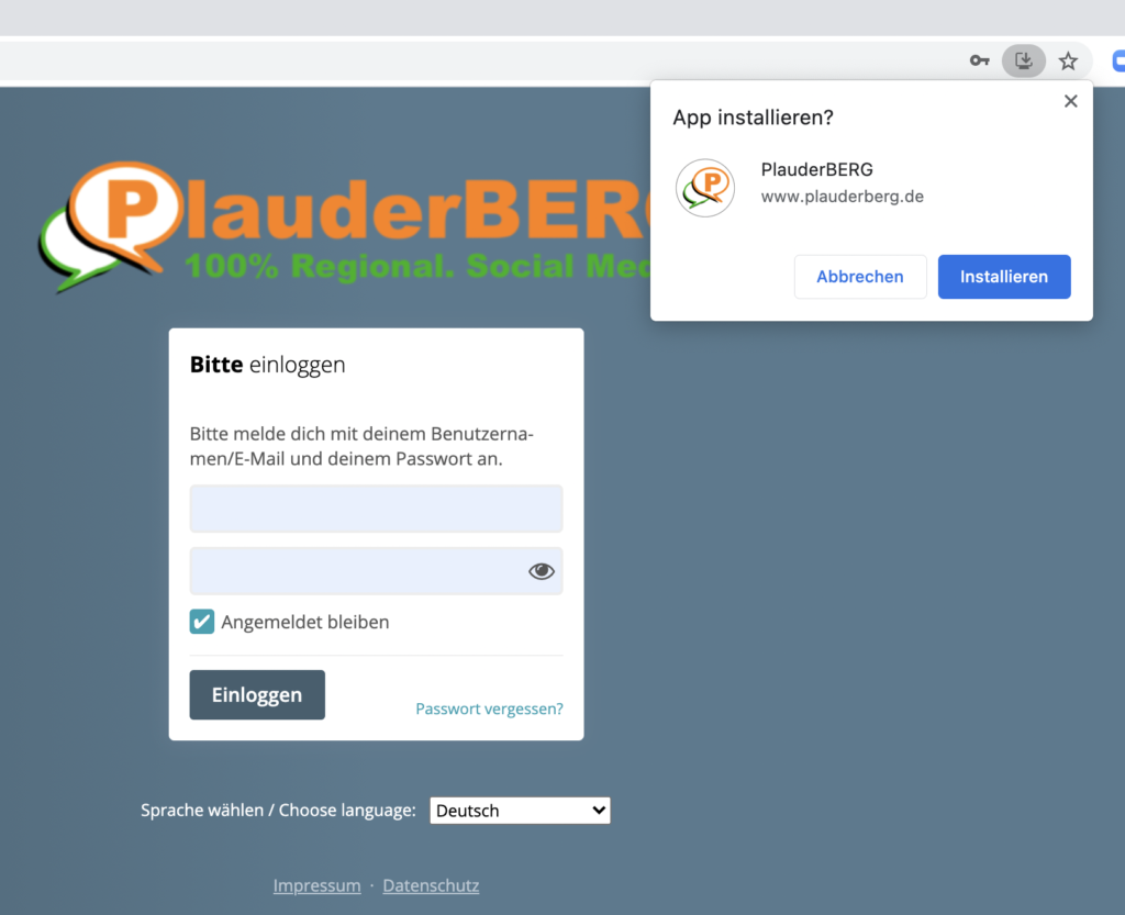 PlauderBERG - Social Media für Oberberg.